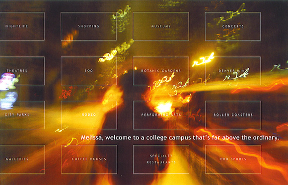 Melissa, welcome to a college campus that's far above the ordinary. University of Colorado at Denver